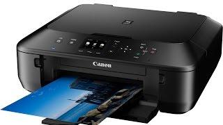 01. Canon Pixma MG6650 - Test