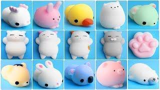 Đồ chơi trẻ em Squishy mochi gấu, heo, mèo, hổ dễ thương - Squishy mochi toys for kids (Chim Xinh)