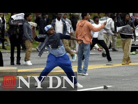Violence in Baltimore: 7 Police Officers Injured in Clashes