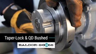 Baldor-Dodge Raptor Coupling : Taper-Lock and QD Bushed Installation Module