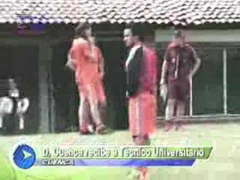 Deportivo Cuenca recibe al Tecnico Universitario