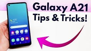 Samsung Galaxy A21 - Tips and Tricks! (Hidden Features)