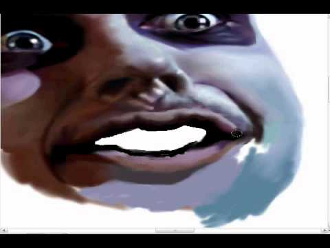 beetlejuice- speed painting