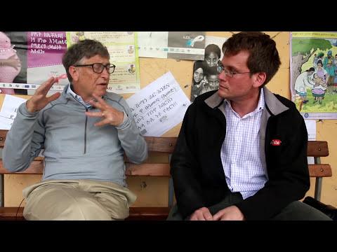 Bill Gates and John Green Discuss Progress