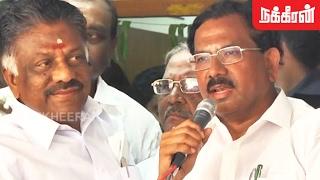 K Pandiarajan joins O Panneerselvam camp