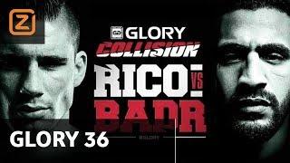 Ziggo Sport | Rico Verhoeven | Badr Hari | Glory 36 Germany | Full Fight