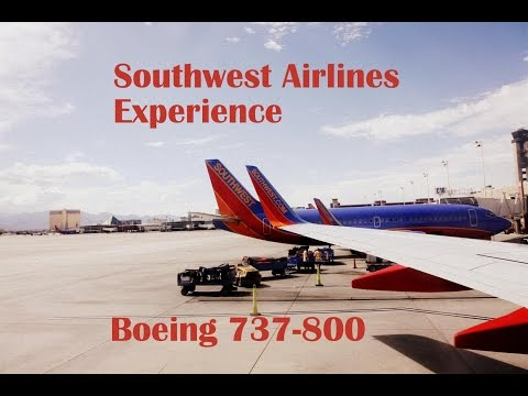 The Southwest Airlines Experience Part I: the Great American West!