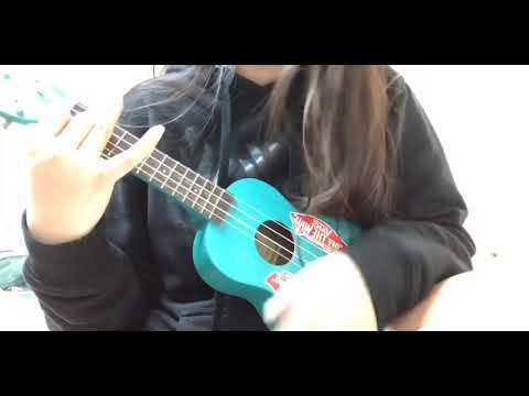 A girl trying to play something she cant haha