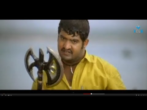 Simhadri Movie - Jr. Ntr Action Scenes - Ankita, Bhumika Chawla video