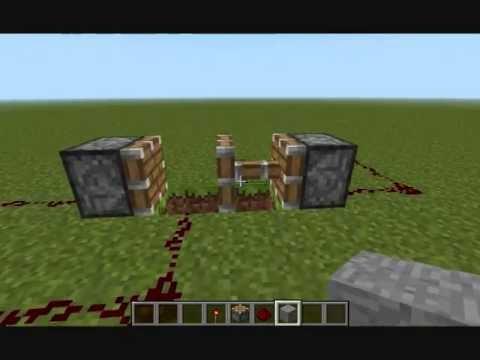 Cool Tricks in Minecraft Minecraft Cool Piston Trick