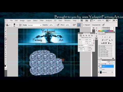 How to Use Adobe Photoshop for Drawing - Stamp tool