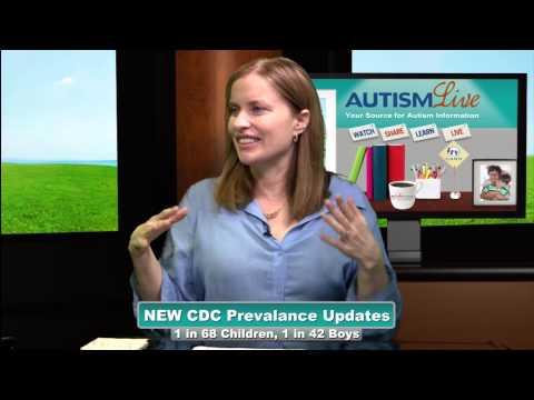 CDC Autism Rates 2014