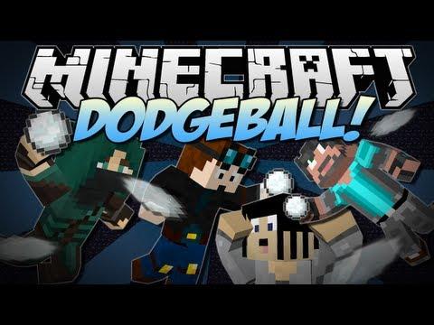 Minecraft   DODGEBALL! w/Gizzy, ThnxCya & ThinkNoodles   Minigame
