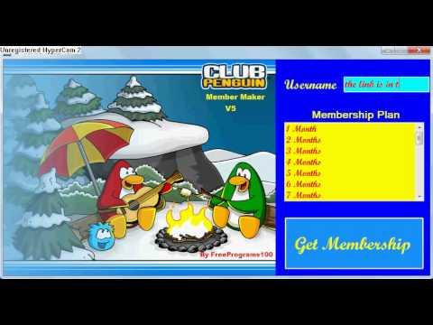 Club Penguin Member Maker V5