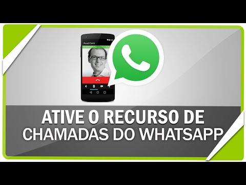 Como ativar o recurso de chamadas do WhatsApp - 100% Funcional