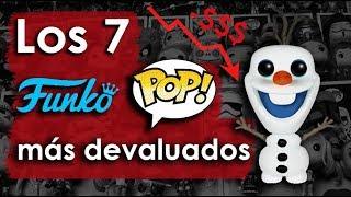 LOS 7 FUNKO POP MÁS DEVALUADOS (con menor valor) | Chris Lemia