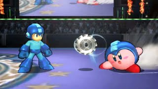 Super Smash Bros 4 (3DS) - All Kirby Hats and Powers