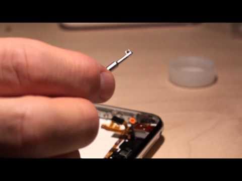 Apple iPhone 3Gs 16GB cambiare sostituire montare copertina nuova Parte Seconda