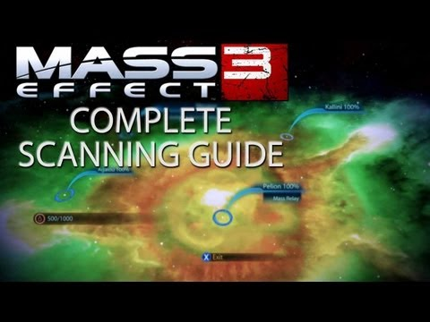 Mass Effect 3 Complete Scanning Guide