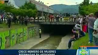 Crece número de mujeres asesinadas en Antioquia