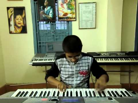 Old Telugu Song Pagale Vennela From Puja Phalam On Keyboard By P.v.satyanarayana video