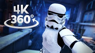 Jabba's Palace 360° Video in 4K! Star Wars Battlefront II