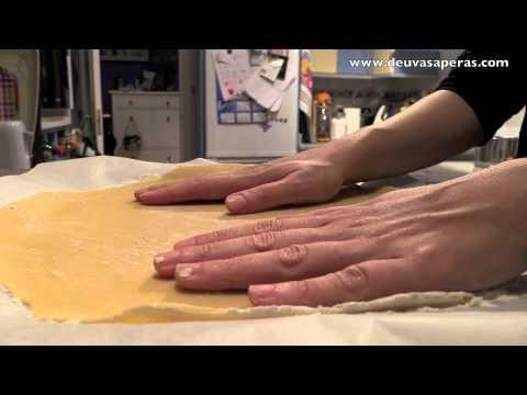 Masa Quebrada para Tartas - Pasta Quebrada Dulce