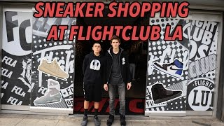 STORE TOUR OF FLIGHTCLUB LA!