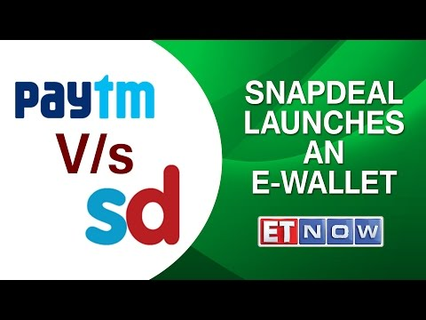 Snapdeal Launches An E-Wallet To Take On Paytm