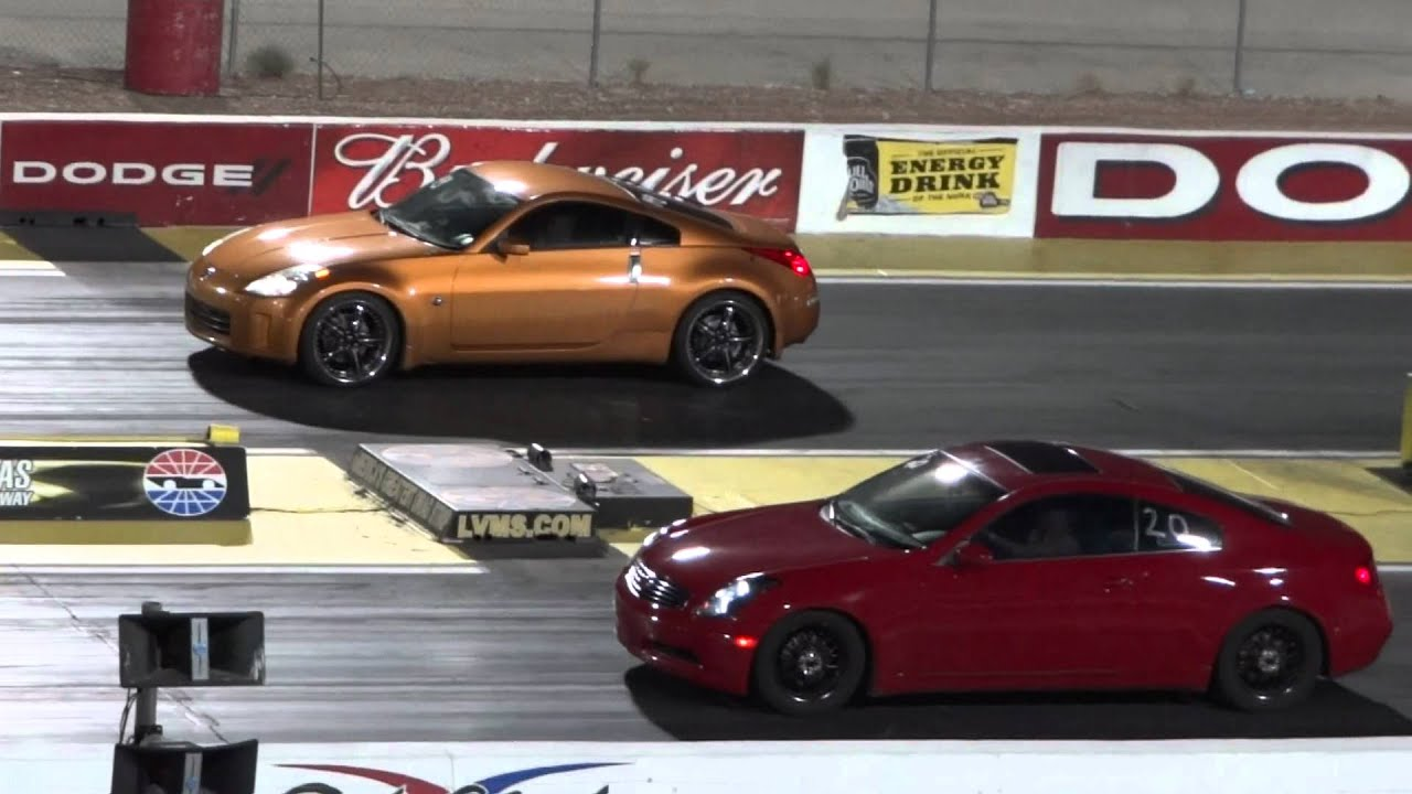 2005 Nissan 350z Vs 2006 Infiniti G35 Youtube