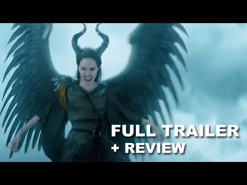Maleficent 2014 Wings Trailer + Trailer Review : Angelina Jolie - HD PLUS