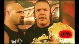 The Rock vs Goldberg vs Triple H World Title Promo.