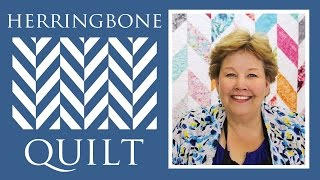 Make a Herringbone Quilt with Jenny Doan of Missouri Star! (Video Tutorial)