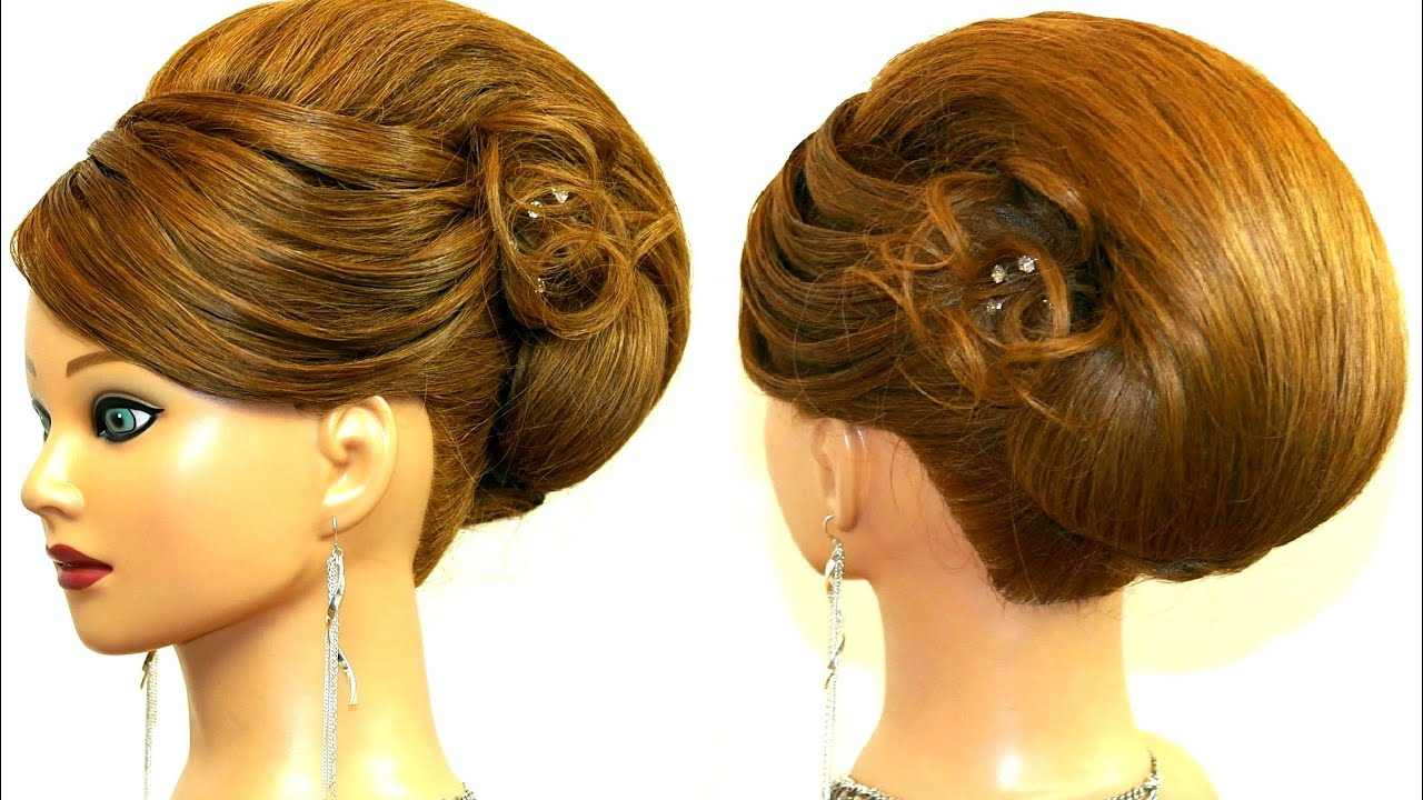 Hairstyle For Long Medium Hair Updo Tutorial Youtube