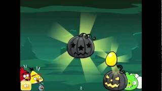 Angry Birds Seasons Ham'o'ween 2-15 2012 Halloween 3 stars walkthrough gameplay tutorial android