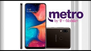 Samsung Galaxy A20 On Metro By T-mobile Huge Phone