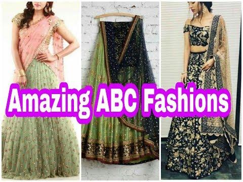 Market Trends | Half Sari, Lehenga Choli,  Designer Blouses