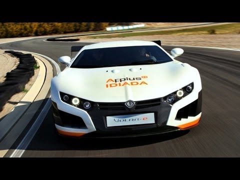 VOLAR-e 2013 1.000 hp -Fastest Electric Supercar -Spanish SuperCar- Top Gear 2013