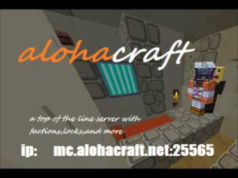 Cool minecraft server:alohacraft
