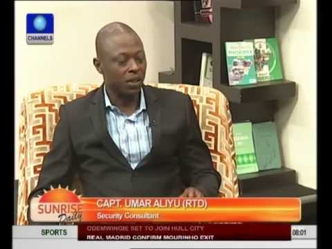 Security Consultant Supports Crackdown, Curfew In Northern Nigeria pt1