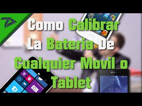 Como Calibrar - Reparar La Bateria De Cualquier Movil o Tablet   NO ROOT o JAILBREAK   TecnoDroid
