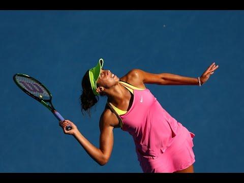 Madison Keys vs Madison Brengle Highlights HD Australian Open 2015