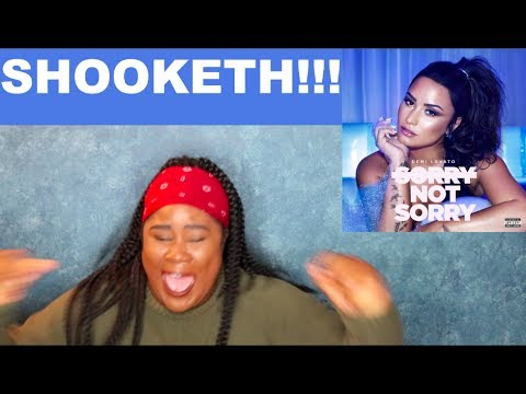 Demi Lovato - Sorry Not Sorry |REACTION|
