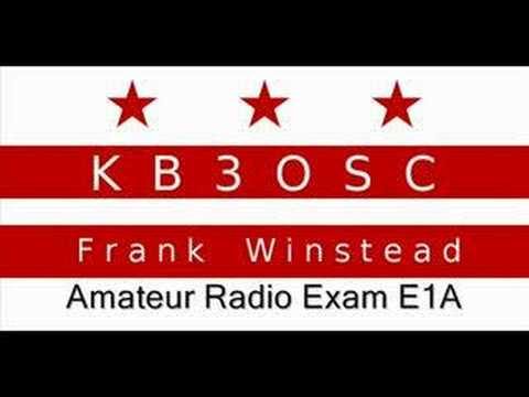 Amateur Radio Extra Exam Prep E1A