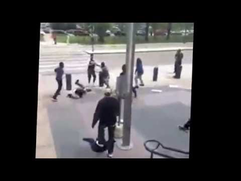 Lack nation part 6 chiraq fight at the cook county jail and military police patrolling