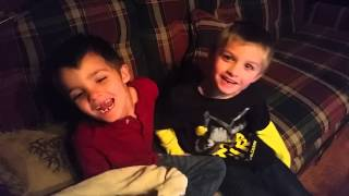 video So my boys and I were watching Wahlburgers on Netflix and I walk into the kitchen and I hear the joke jingle from the episode we just watched. It was so cute...