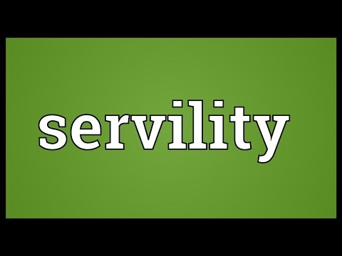 Header of servility