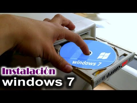 Instalación de windows 7 Ultimate