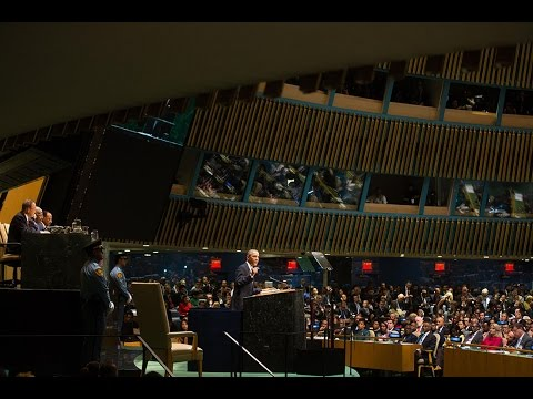 President Obama Addresses the United Nations General Assembly