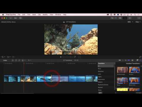 How To Create Transition Effects In Final Cut Pro X
